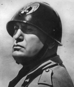 Benito Mussolini (1883 - 1945) the Italian dictator in 1934. (Photo by Topical Press Agency/Getty Images)